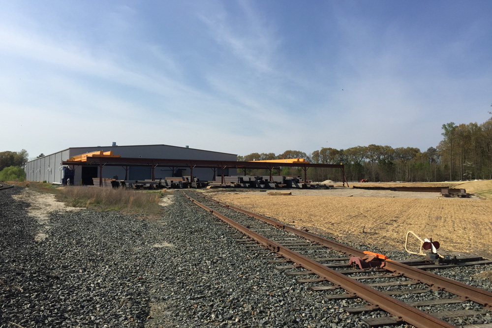 The Maryland and Delaware Railroad Company - Construction